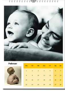 Calendario de Pared A4 - Fotocalendario.com